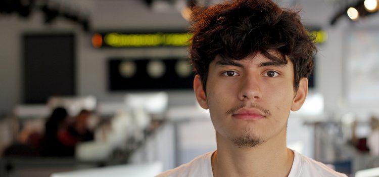 Brandon Ortega: Journalism instinct inspired by lyricists