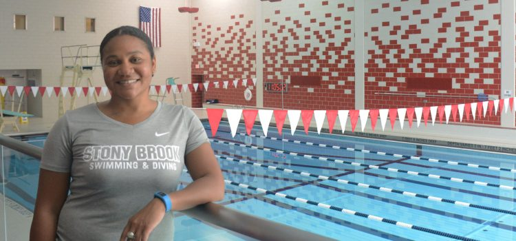 Olympian's biggest challenge: Advice and vision for the future of SBU swimming & diving